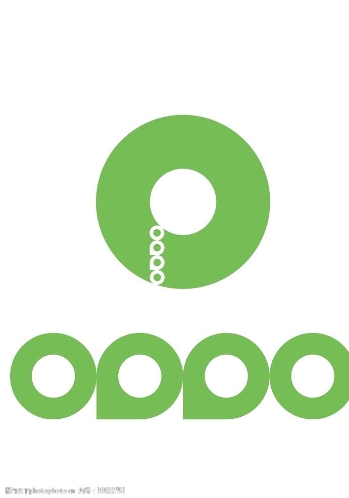 oppo环形logo图片