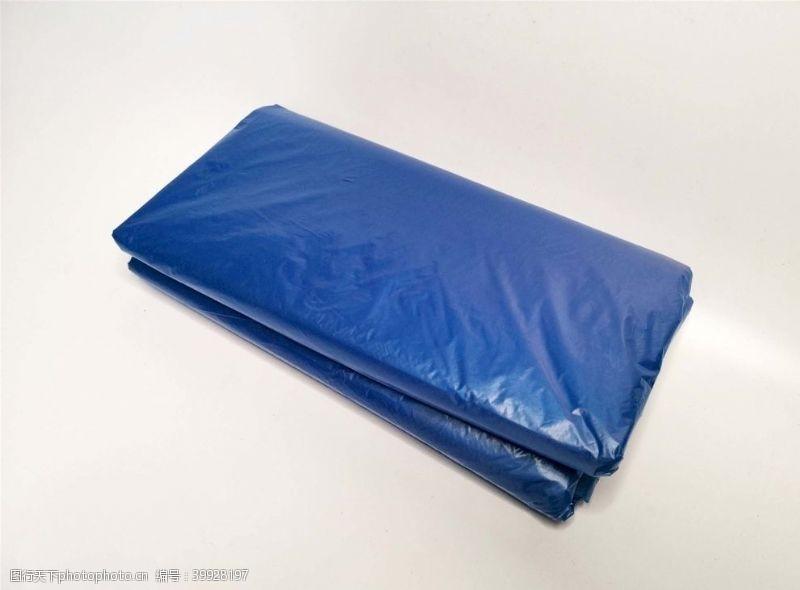 环保袋蓝色色料袋图片
