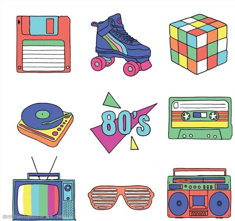 磁带年代物品图片