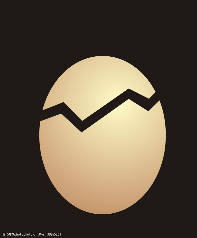 板报矢量金蛋图片