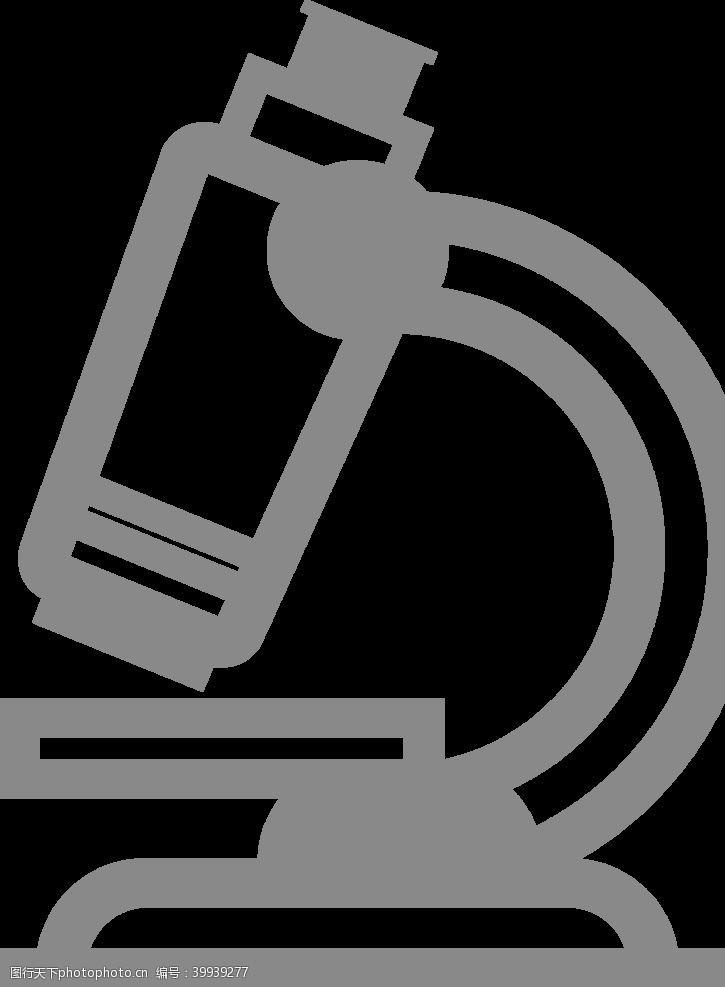 医疗护理显微镜图标图片