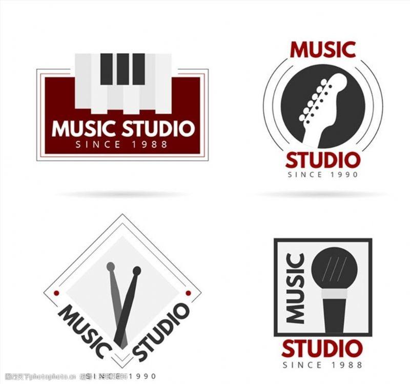 音乐工作室标志图片