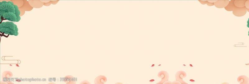宣传栏中国风banner图片