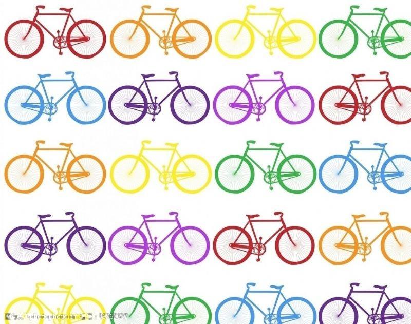 psd素材自行车纹理图片