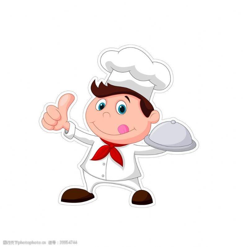 点赞厨师图片