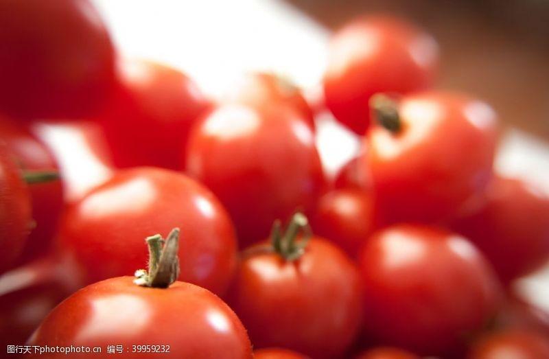 餐饮美食番茄特写图片