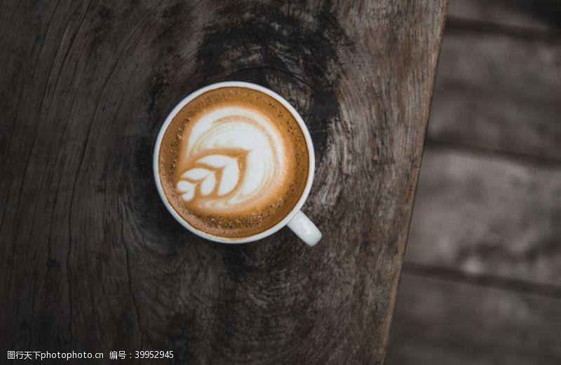 品牌咖啡咖啡拉花图片