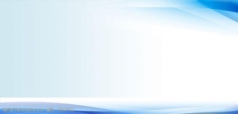 时尚背景蓝色展板背景图片