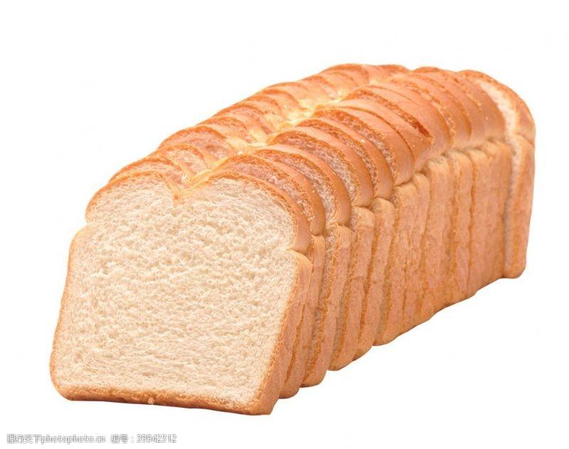 切片面包片图片