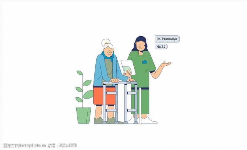 矢量插画商务插画图片