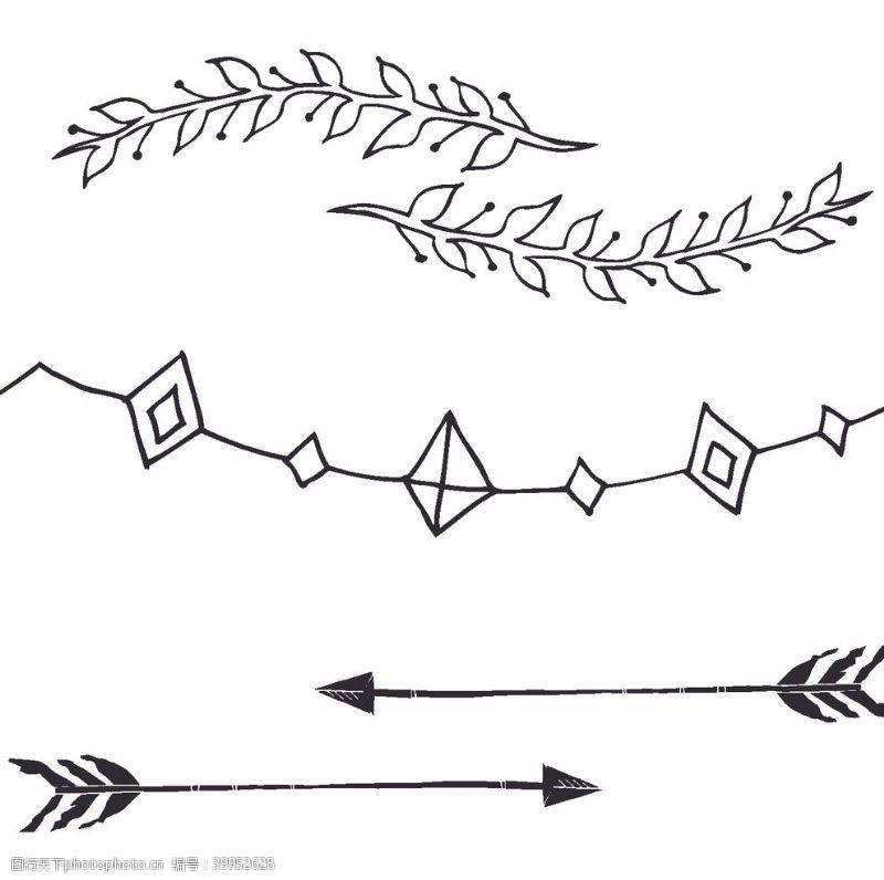 艺术几何手绘创意图案图片