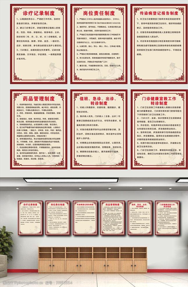 古色中医医院制度规章制度图片