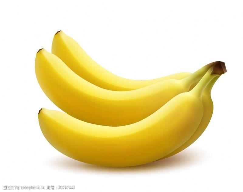 逼真的香蕉图片