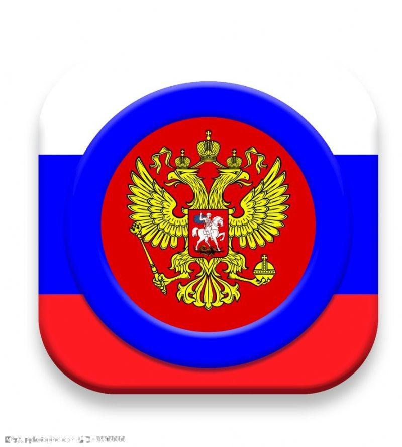 图标俄罗斯风格ICON设计图片
