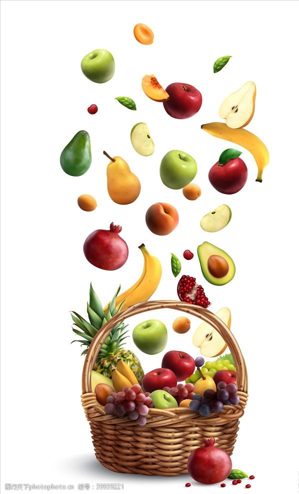 香蕉高清水果大全图片