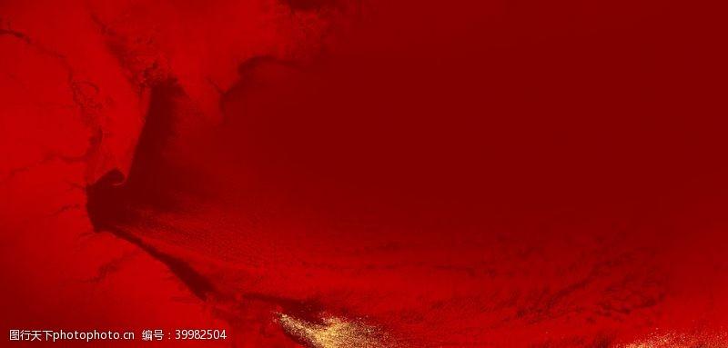 新中式红色背景图片
