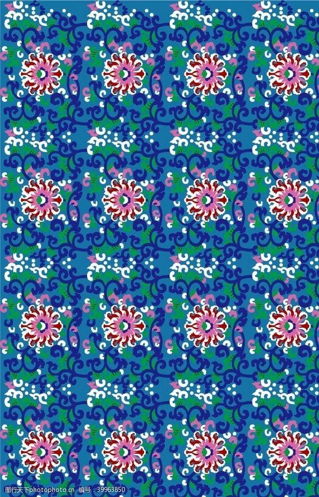 陶瓷花纹景泰蓝珐琅彩图片