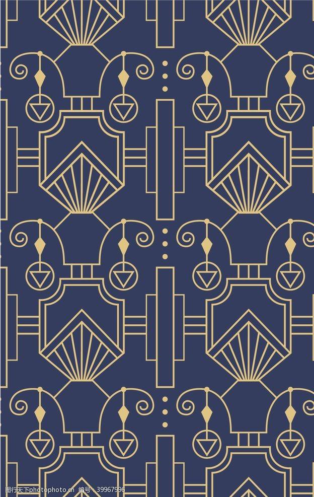 欧式底纹矢量传统图案底纹图片