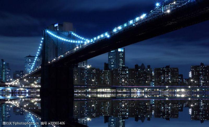 城市桥图片