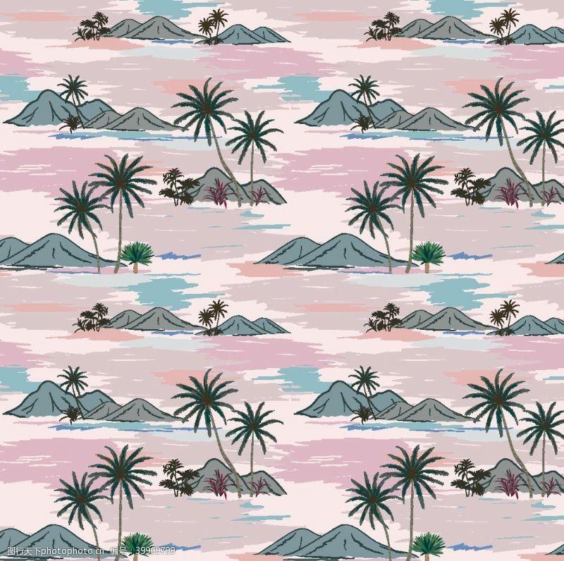 冲浪素材热带雨林图片