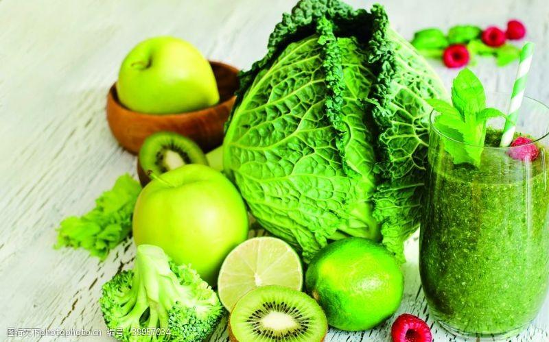 苹果蔬菜水果绿色食品图片