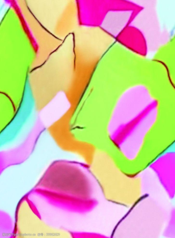 彩色扎染女装图片