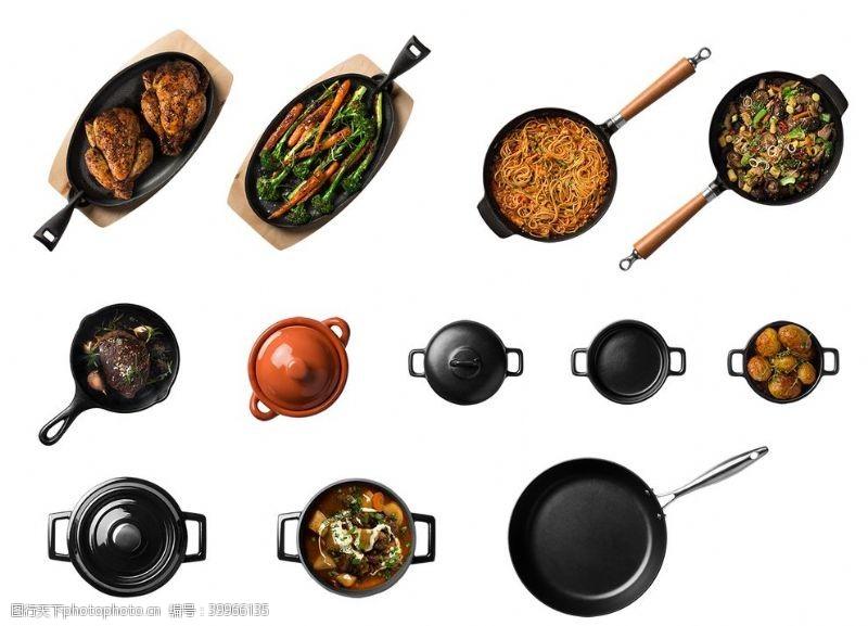 可煲汤炒菜炒锅图片