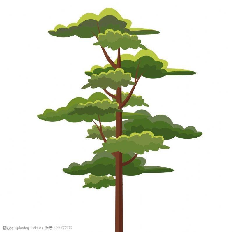 绿植大树图片