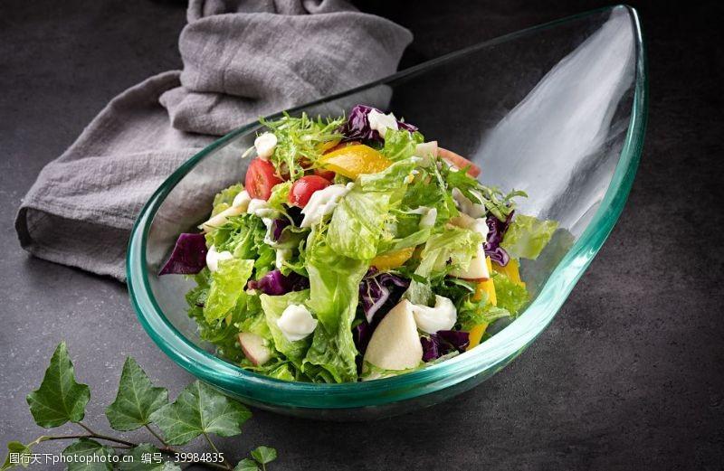 时令蔬菜果蔬沙拉图片