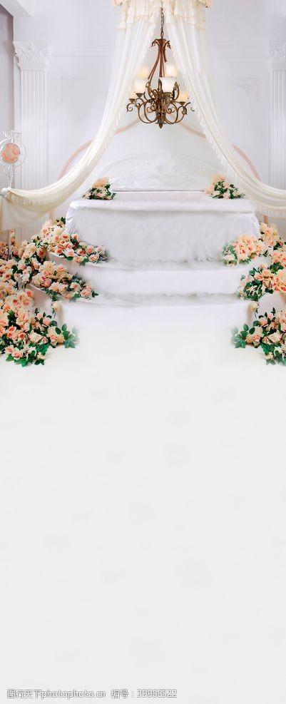 婚礼影楼背景图片