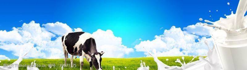 绿色牛奶图片