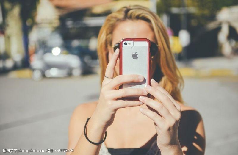 科技产品苹果手机图片