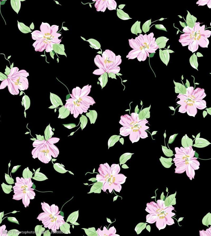 小花手绘花碎花图片