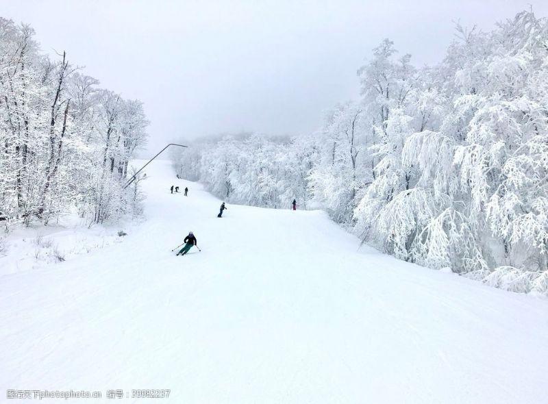 山脉摄影雪景图片