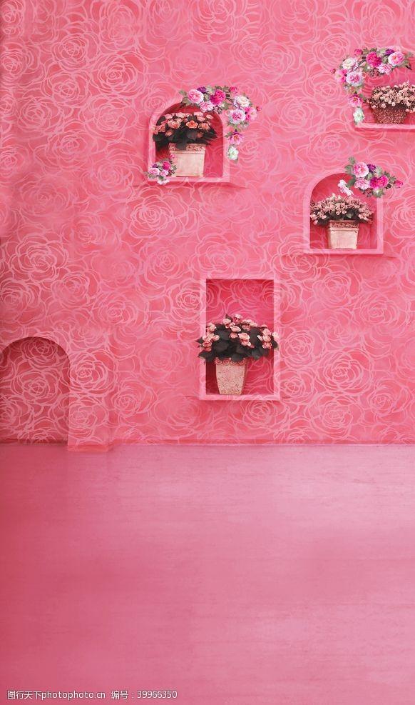 婚庆影楼背景墙图片