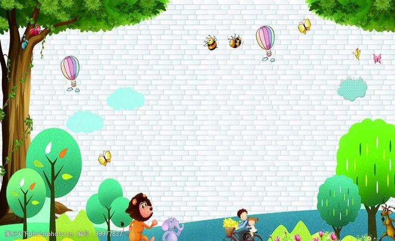 招生广告幼儿园招生图片
