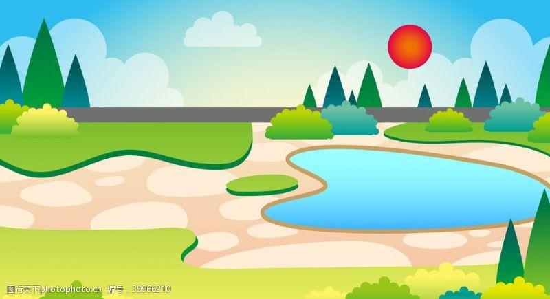 绿植游乐园图片