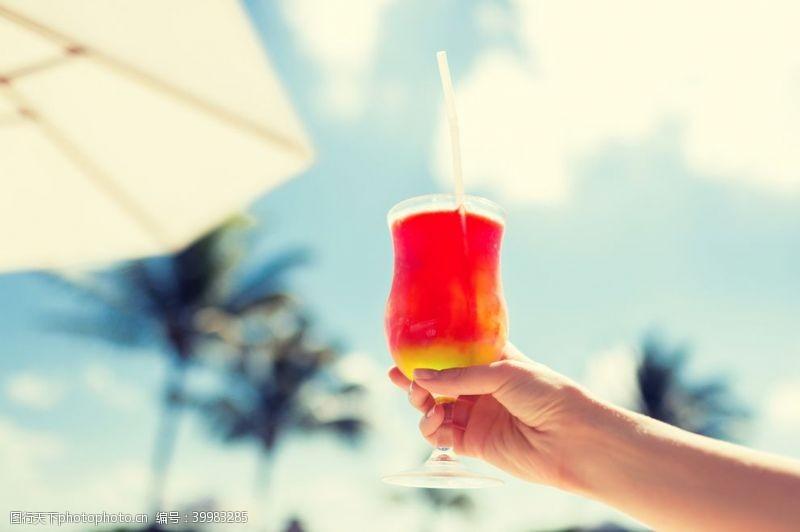 鸡尾酒酒酒吧洋酒水果茶图片