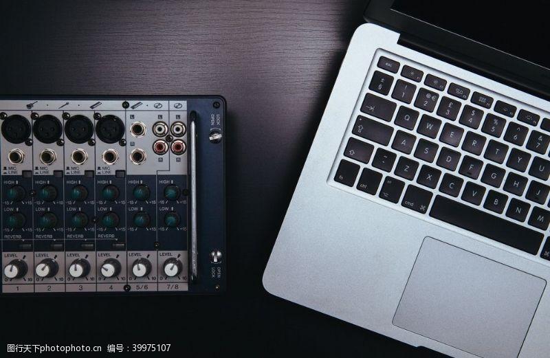 科技产品苹果笔记本图片