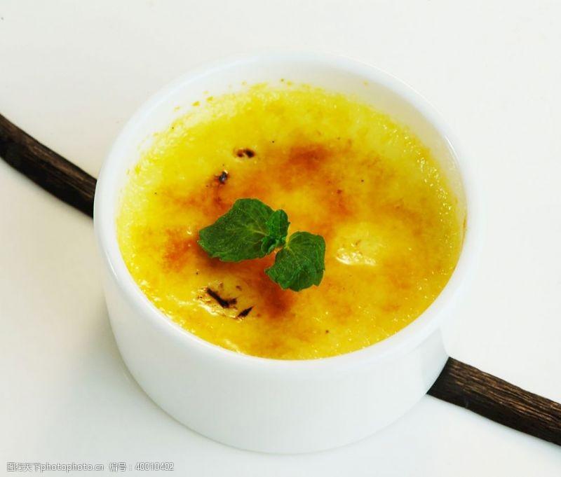 芒果布丁法式焦糖布丁图片