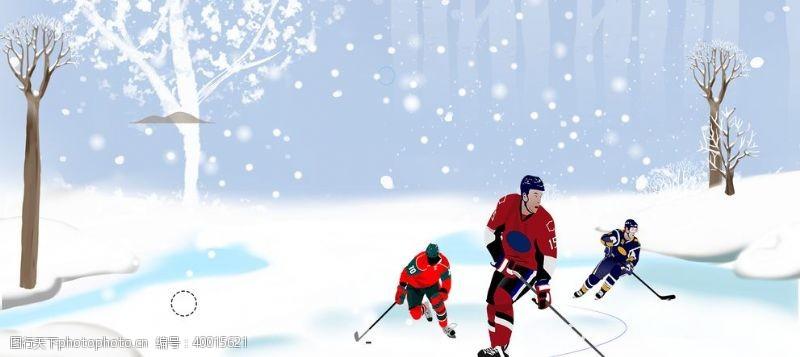 冬令营冰雪运动图片