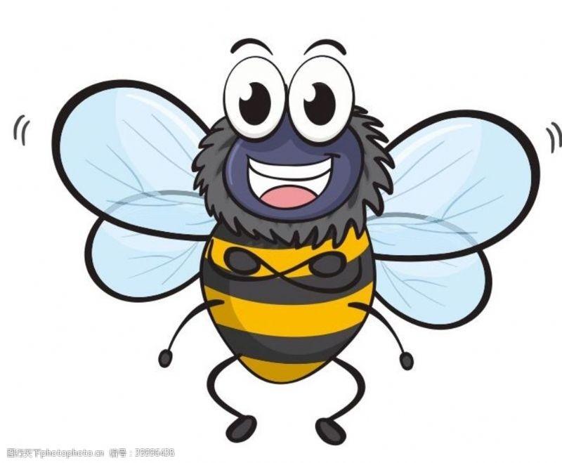 国际儿童节矢量卡通蜜蜂图片
