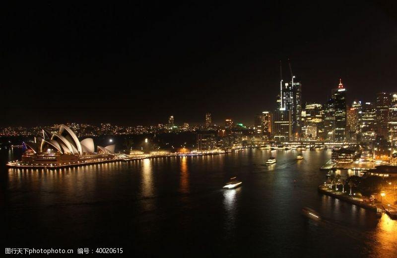 世界建筑悉尼歌剧院图片