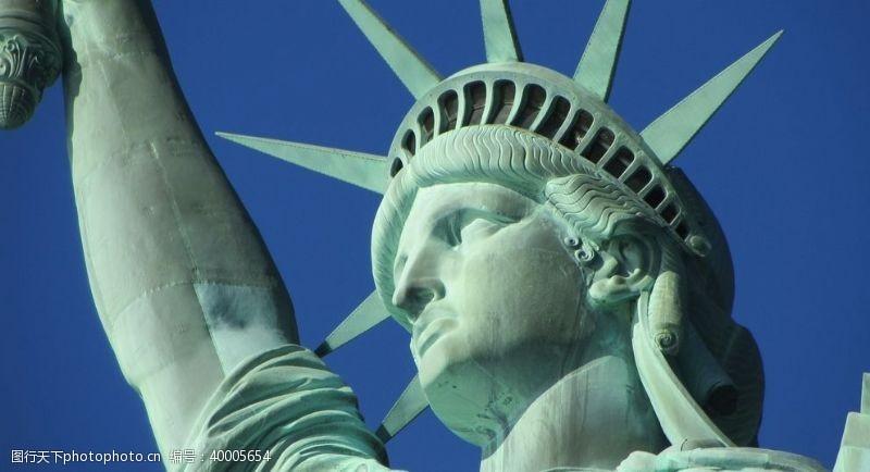 自由女神像图片