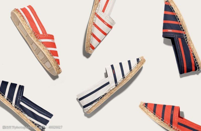 运动鞋帆布鞋样机图片