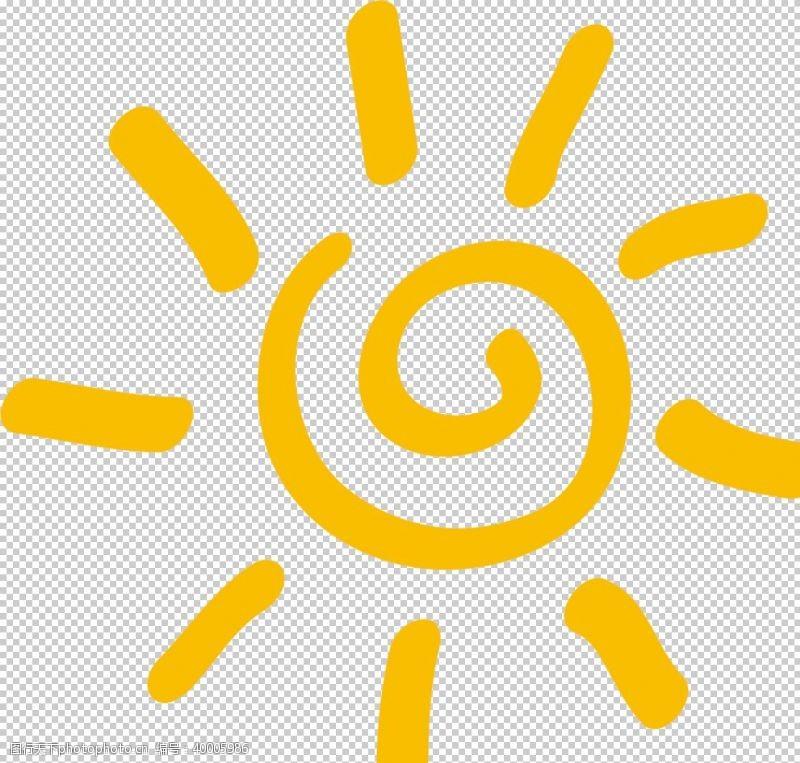 金太阳卡通太阳图片