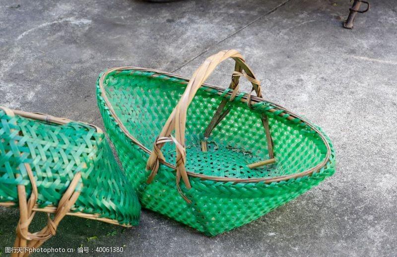 菜篮子编织篮子图片