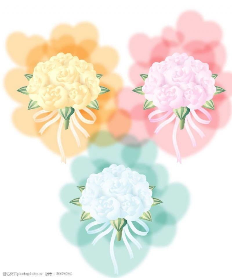 水彩绘彩绘花图片