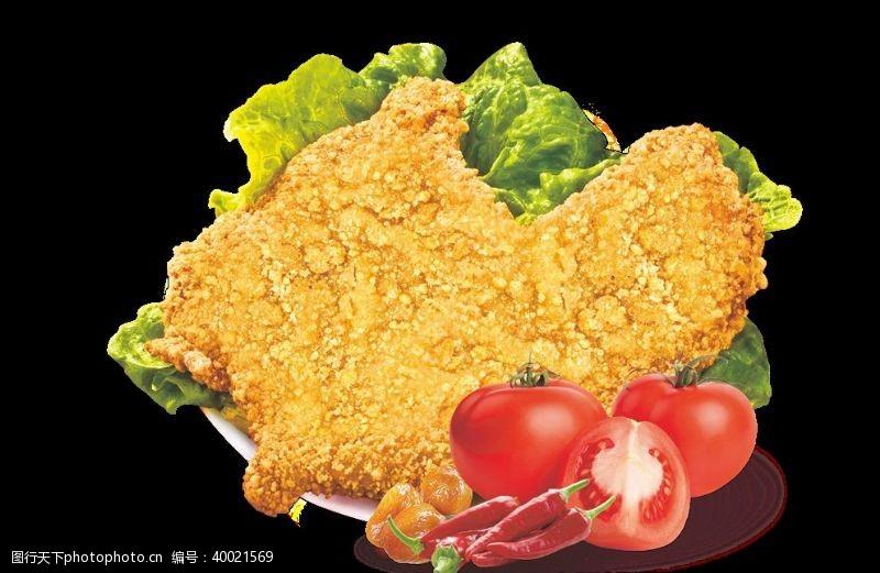 炸鸡排大鸡排图片
