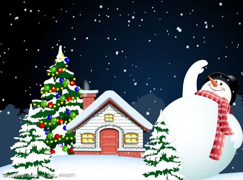 矢量插画圣诞插画图片